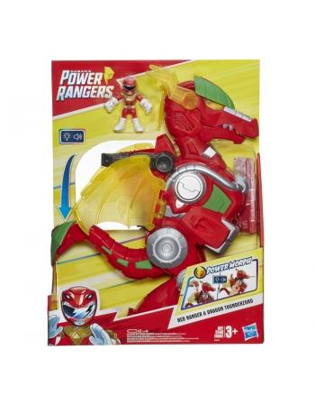 PLK POWER RANGER PSET ZORD DRAGAO E5865