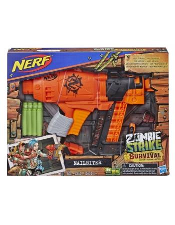 $ NERF ZOMBIE STRIKE NAILBITTER E2672 % #