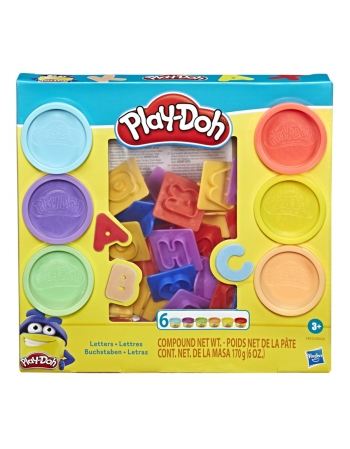 PLAY DOH LETRAS E8532%