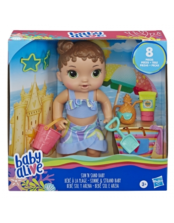 BABY ALIVE SOL E AREIA E8718