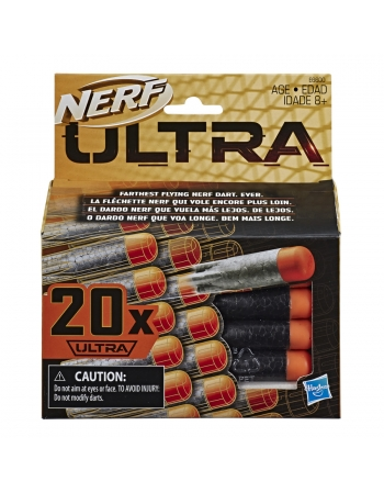 NERF ULTRA DARDOS REFIL C/ 20 E6600