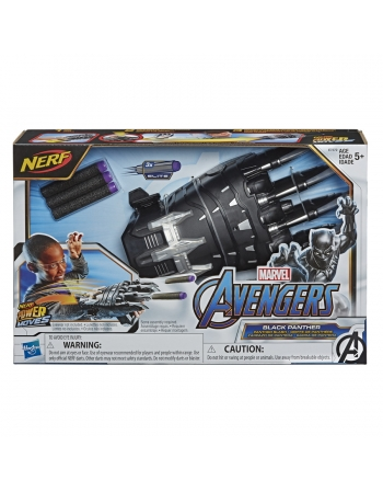 AVENGERS POWER MOVES LANÇADOR PANTERA NEGRA E7372