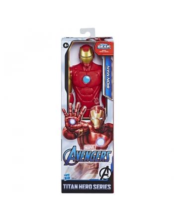 "AVENGERS FIG 12"" TITAN HERO BLAST GEAR HOMEM DE FERRO E7873"