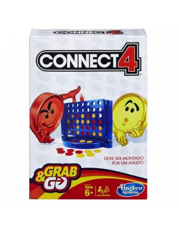 JOGO CONNECT 4 GRAB & GO B1000
