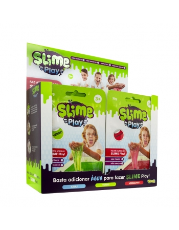 SLIME SACHE 20G DISPLAY COM 24 PCS*