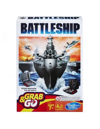 JOGO BATTLESHIP GRAB & GO B0995