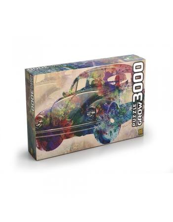 P. 3000PÇ VINTAGE CAR