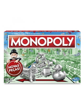 JOGO MONOPOLY NOVO! C1009