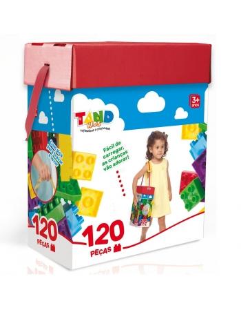 BLOCOS DE MONTAR TAND KIDS 120 PÇS