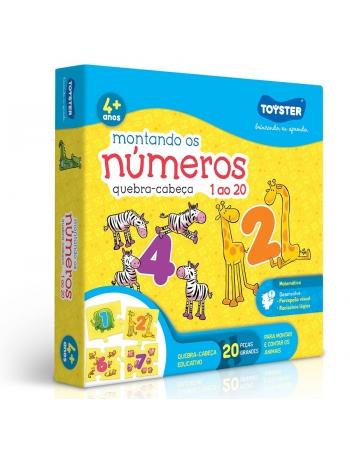 P. 20 PÇS MONTANDO OS NÚMEROS
