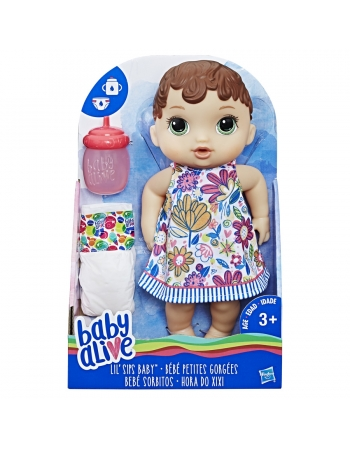 BABY ALIVE HORA DO XIXI MORENA NEW E0499