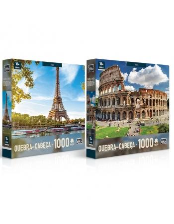 P. 1000 PÇS PARIS E ROMA SORTIDO