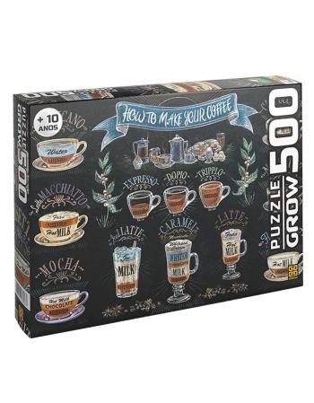 P. 500 PÇS CAFÉ GOURMET