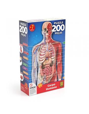 P. 200 PÇS CORPO HUMANO