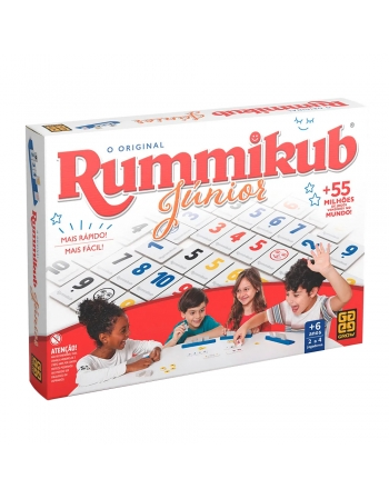 JOGO RUMMIKUB JUNIOR