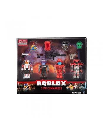 ROBLOX PACK COM 4 FIGURAS