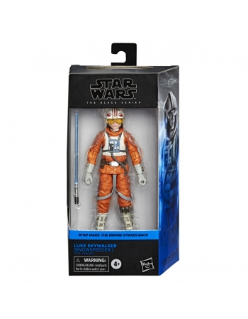 SW THE BLACK SERIES LUKE SKYWALKER (SNOWSPEEDER)E9325