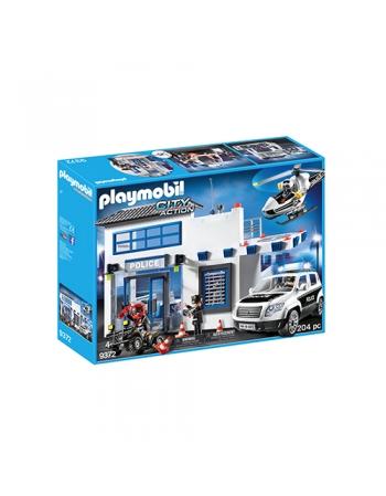 & PLAYMOBIL POSTO POLICIAL C/ ACESSÓRIOS