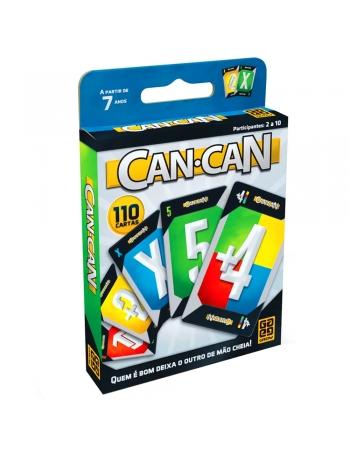 JOGO CAN CAN NOVO - 110 CARTAS*