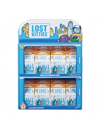 $ LOST KITTIES CAIXA SURPRESA E4459*