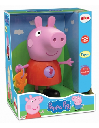 BONECO PEPPA PIG COM ATIVIDADES - PEPPA
