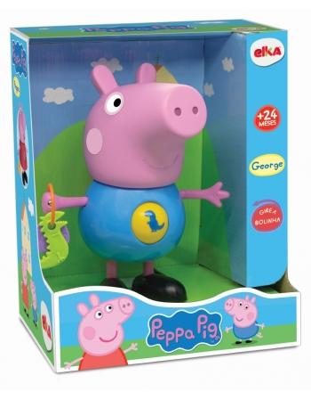 BONECO PEPPA PIG COM ATIVIDADES - GEORGE