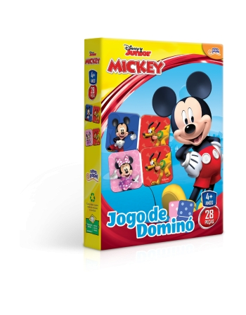 JOGO DE DOMINÓ MICKEY