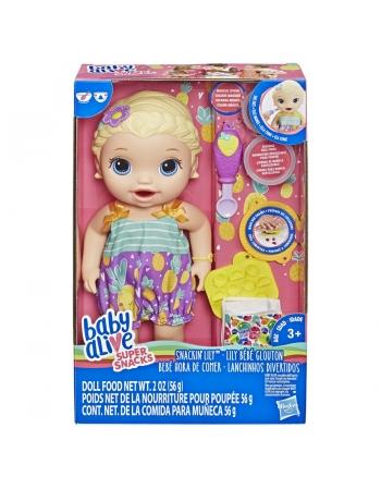 BABY ALIVE LANCHINHOS DIVERT LOIRA E5841