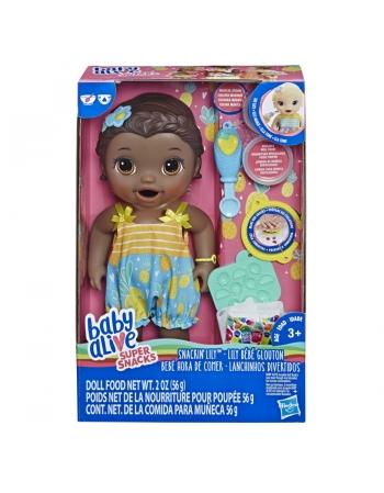 BABY ALIVE LANCHINHOS DIVERT NEGRA E5839