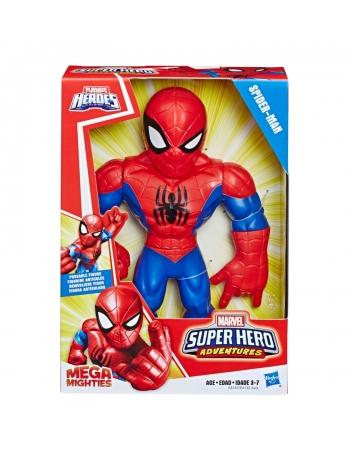 "PLK SUPER HERO FIG. 10"" MEGA MIGHTIES SPIDER MAN E4147"