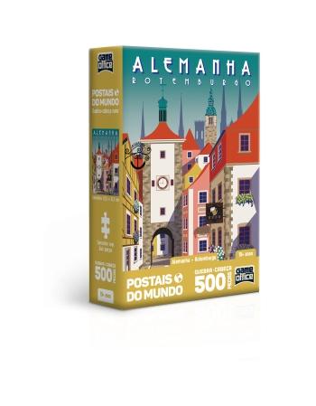 P. 500 PÇS POSTAIS DO MUNDO ALEMANHA- ROTEMBURGO