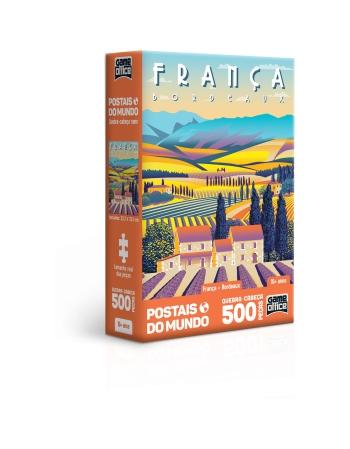 P. 500 PÇS POSTAIS DO MUNDO FRANÇA - BORDEAUX