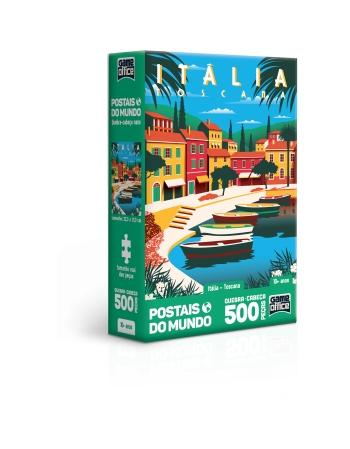 P. 500 PÇS POSTAIS DO MUNDO ITÁLIA - TOSCANA