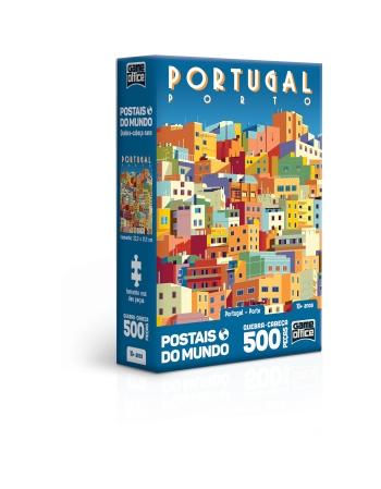 P. 500 PÇS POSTAISDO MUNDO PORTUGAL - PORTO