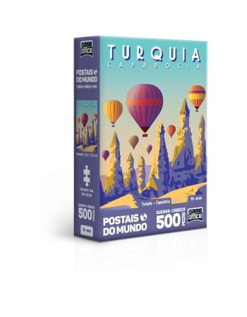 P. 500 PÇS POSTAIS DO MUNDO TURQUIA - CAPADÓCIA