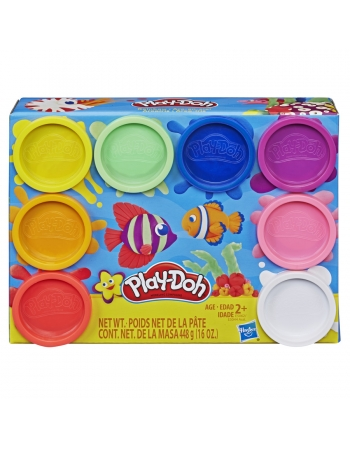 PLAY DOH 8 POTES E5062