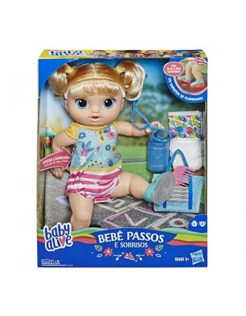 BABY ALIVE 1º PASSINHOS LOIRA E5247